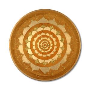 24 Karat Goldbild_Gold der Erde_Mandala