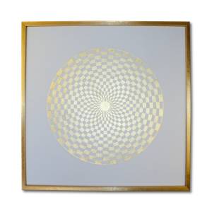 24 Karat Goldbild_Pranagenerator_gold_Frontalbild_Art-175